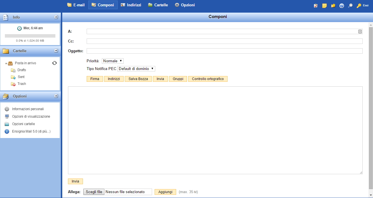 pec-kolst-webmail-stesura-email